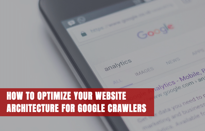 Optimize website architecture to optimize search engine crawling