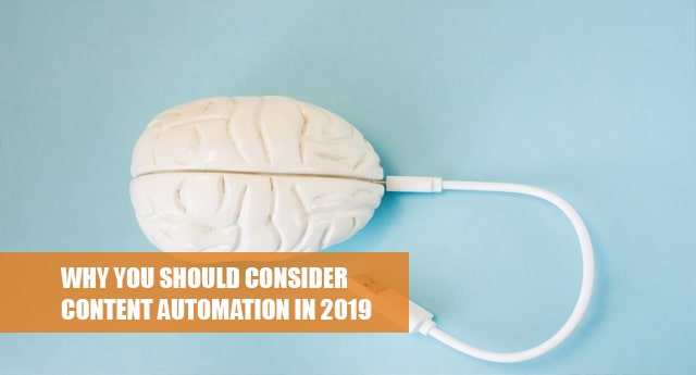 Content automation in 2019
