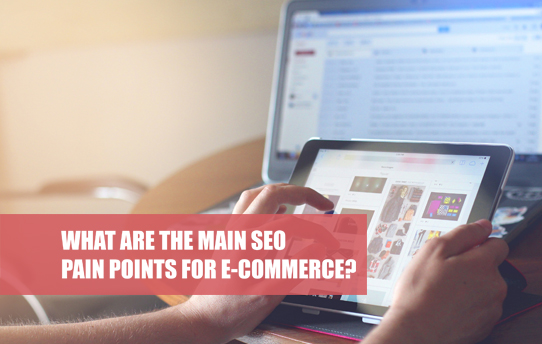 What are the SEO pain points for e-commerce?